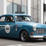 Volvo Amazon im Ralleykleid