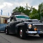 Volvo Amzon mit Anhänger direkt aus Wuppertal kommend