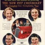 Chevrolet Master 1937 advertising