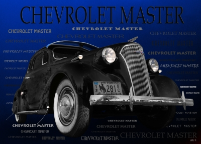 Chevrolet Master Deluxe Coupe 1937 Art Car by aRi F.