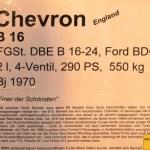Chevron B16 technische Daten Baujahr 1970