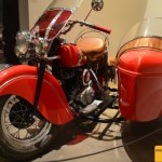 Classic Bike Indian mit Beiwagen