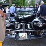 Präsidable Ankunft von James F. Gill mit Lincoln Continental Serie 66H (Baujahr 1946) zur Vernissage