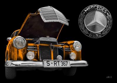 Mercedes-Benz 190 Db Ponton W 121 (1959-1961) Poster