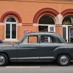 Mercedes-Benz 190 Db Ponton W 121 Seitenansicht