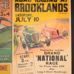 Plakat Road Racing at Brooklands