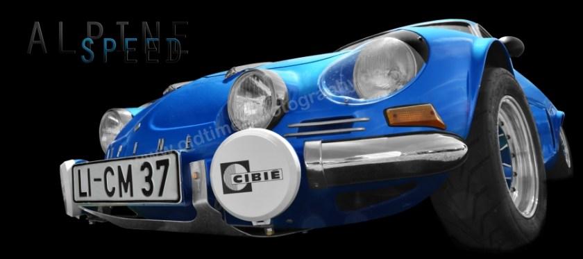 Renault Alpine A110 Poster Autofotografie aRi F. in Langenargen
