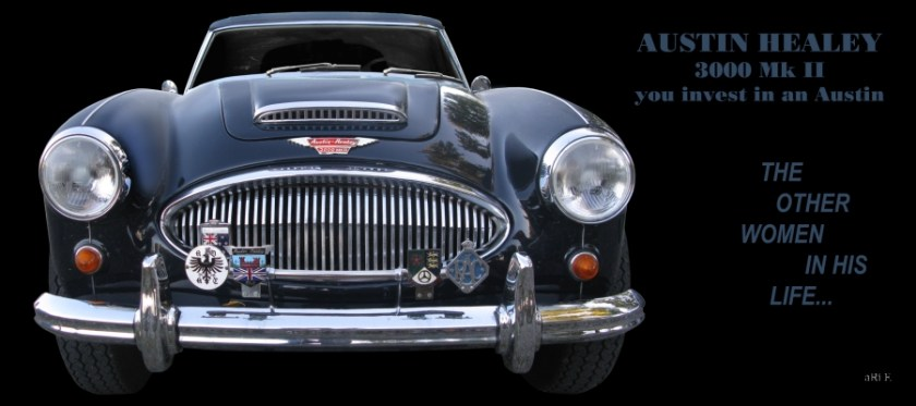Austin-Healey 3000 Mk II for sale Poster by aRi F. - Art Cars