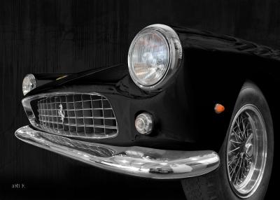 Ferrari 250 GT Frontdetail Poster