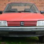 Peugeot 205 GRD Originalfoto das hinterher zum Art Car bearbeitet wurde
