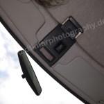 Peugeot 205 GRD mit Rückspiegel und Öffnungsriegel für Glasschiebedach