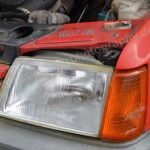 Peugeot 205 GRD mit Scheinwerfer vorne links