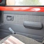 Peugeot 205 GRD mit Stoffbezügen an Seitentüren