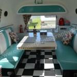 Airstream Caravan Innenraum