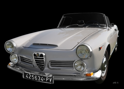 Alfa Romeo 2600 Spider Poster for sale
