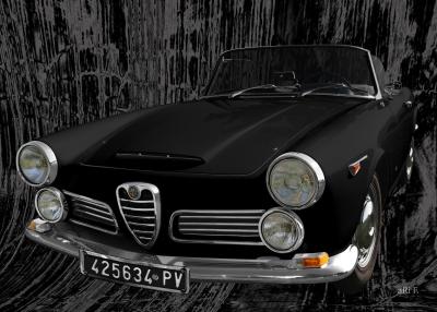 Alfa Romeo 2600 Spider Pubblicità