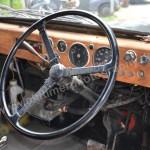 Beardmore Mk 7 Paramount Taxi Lenkrad und Armaturen