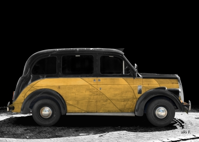 Beardmore Mk VII Paramount Taxi english Art Car
