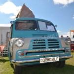 Bedford Dormobile von 1954 beim Hymer Museumsfest 2017