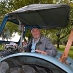 Posing mit Traktor...