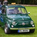 Fiat 500 mit Signallicht