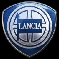 Logo Lancia Ypsilon vorne auf Kühlergrill 1. Generation 2003–2011