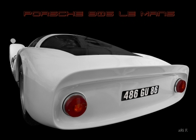 Porsche 906 Le Mans Carrera 6 Poster