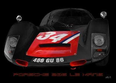 Porsche 906 Le Mans 1966 No. 34 Poster