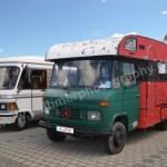 Wohnmobile der 80er und 90er beim Museumsfest 2017
