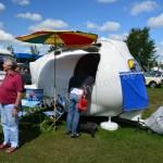 Wohnwagenbesichtigung auf dem Hymer Museumsfest 2017
