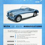 Austin-Healey 100M Modifications