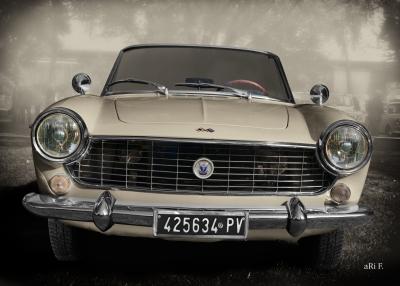 Fiat 1500 Spider Poster