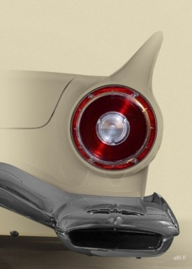 Ford Thunderbird Art Car Poster