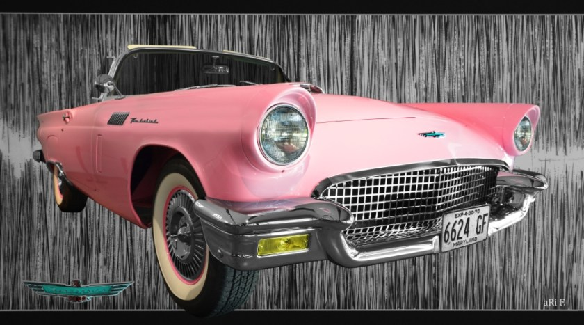 "Ford Thunderbird ""Classic Birds"" (1955–1957)"