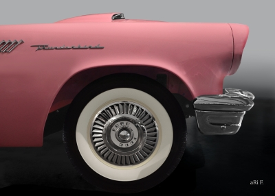 Ford Thunderbird original color side view