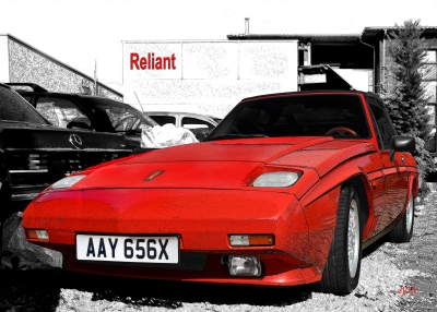 Reliant Scimitar SS1 1.8 Turbo Poster for sale