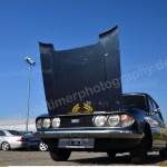 Triumph 2.5 PI Mk2 Estate mit geöffneter Motorhaube