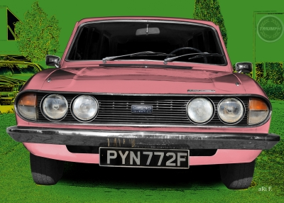 Triumph 2.5 PI Mk2 Estate Art Car by aRi F.