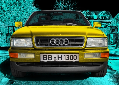 Audi 80 Cabriolet Frontansicht new created by ari F.