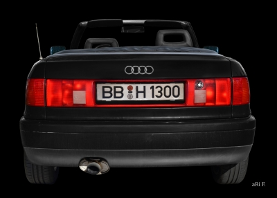 Audi 80 Cabriolet Heckansicht