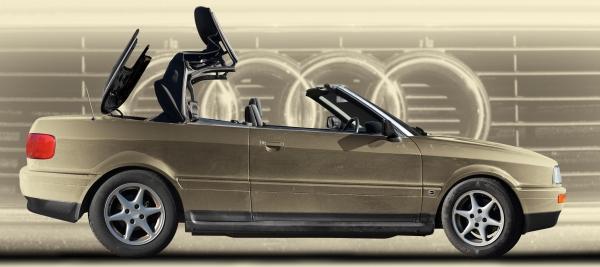 Audi 80 Cabriolet Poster