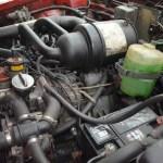 NSU Ro 80 Motorraum und Frontantrieb