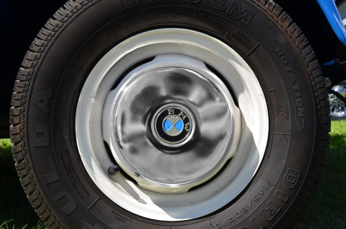 BMW Isetta Felgen und BMW Radkappe