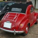 Fiat-NSU Topolino C Heckansicht