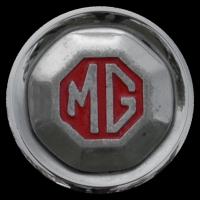 Logo MG TC auf Radkappe (1945-1950)