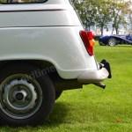 Renault 4 Heckansicht mit Blinker