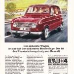 Renault R4 Werbung 1968