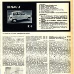 Renault R4 mot Heft 6 1963 Seite 17