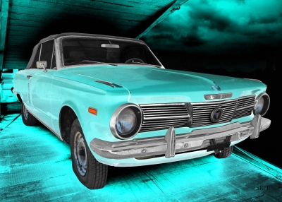 Plymouth Valiant Signet art car by aRi F.