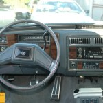 Cadillac Fleetwood Brougham Interieur